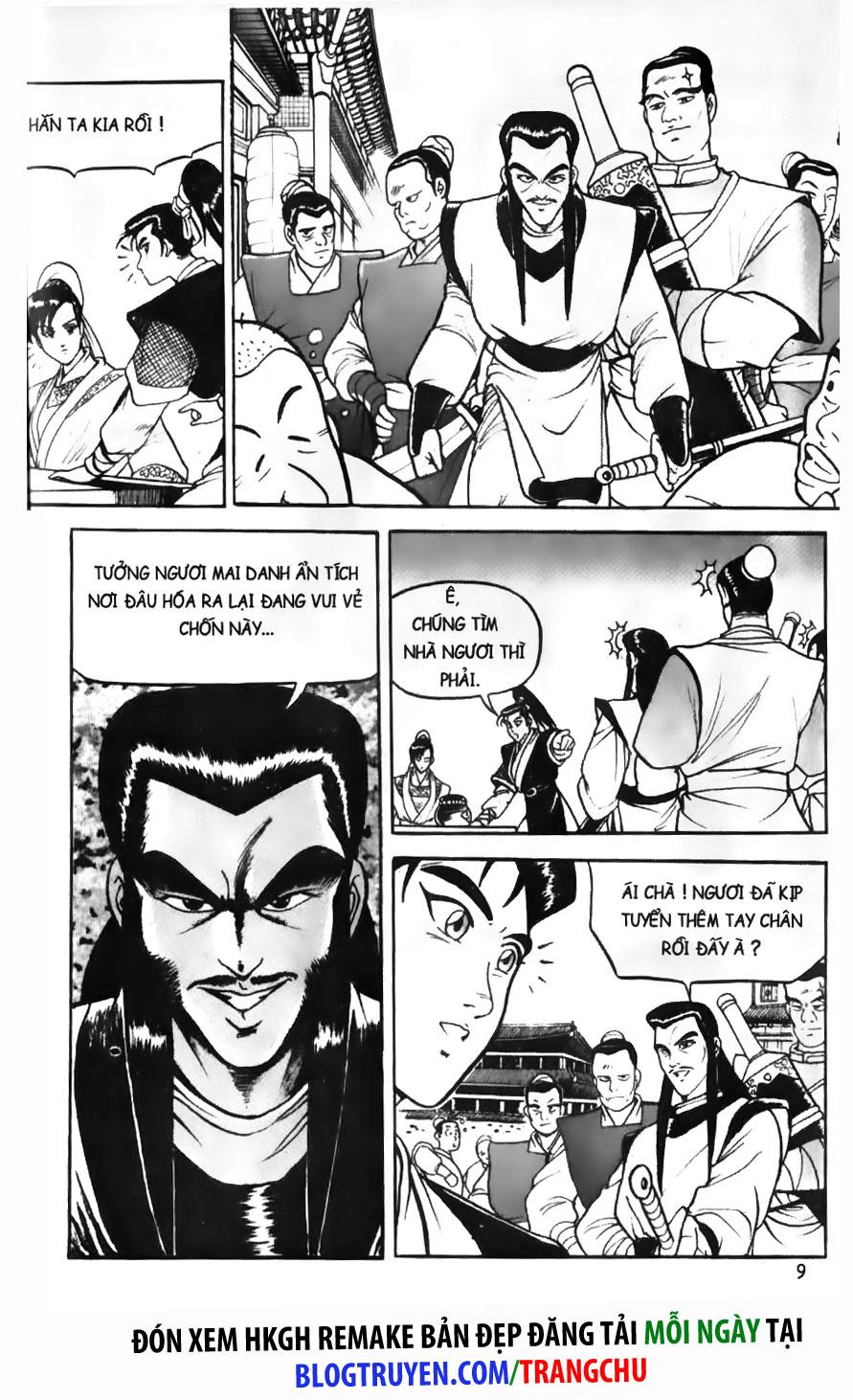 Hiệp Khách Giang Hồ chap 1 Trang 10