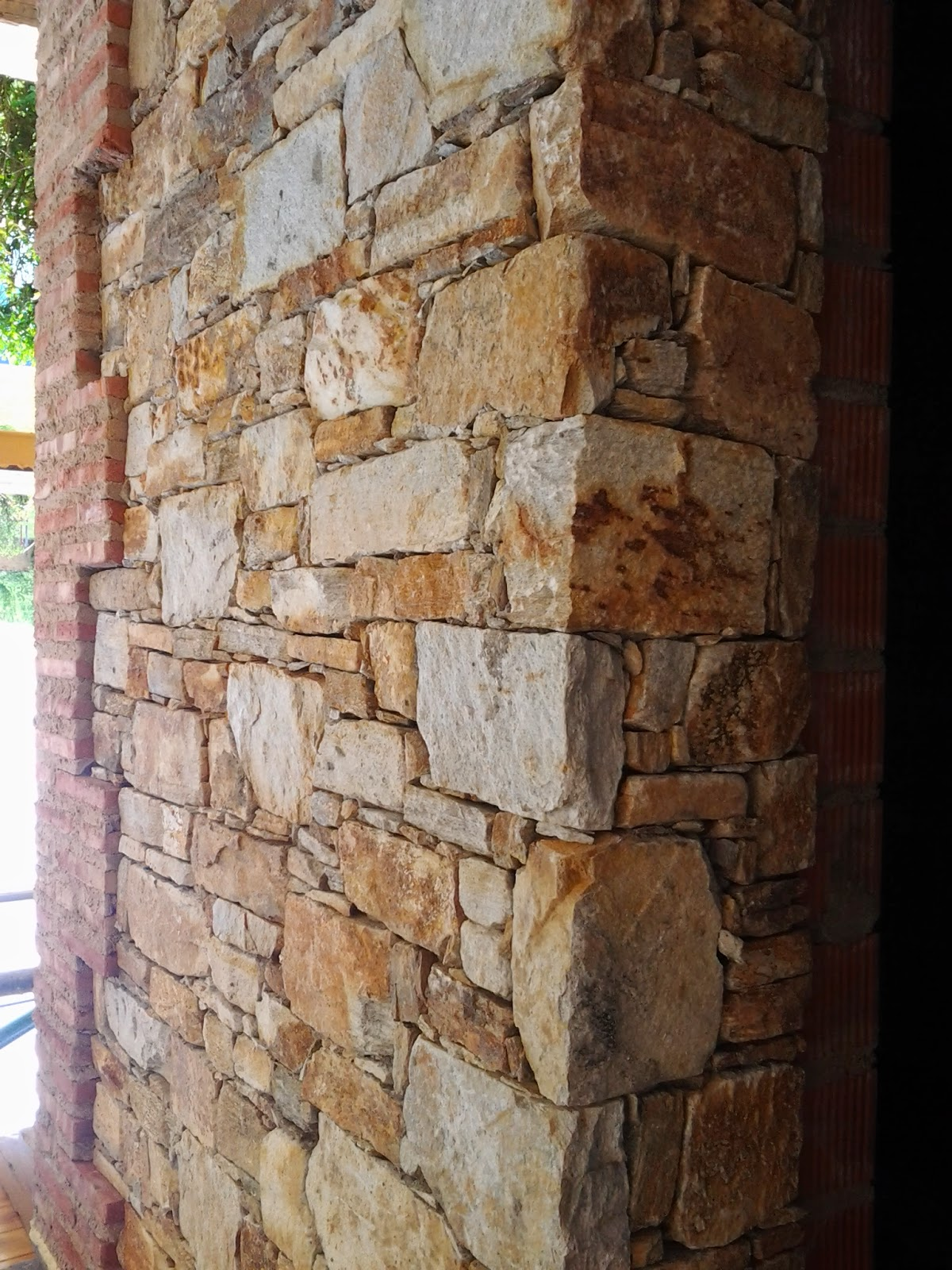 Venta y colcocacion de piedra de taco de - Piedra artificial para interiores ...
