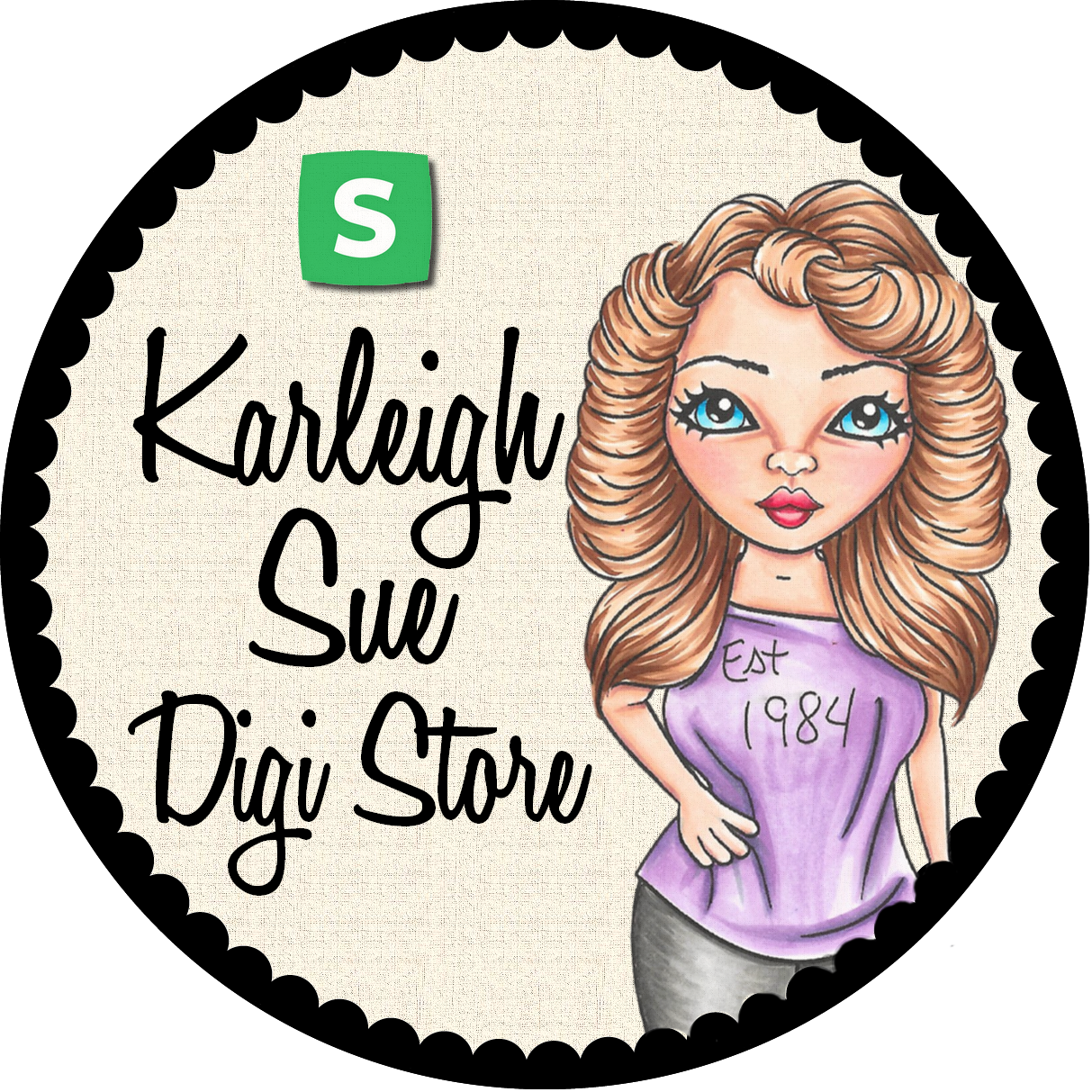 Karleigh Sue Digital Stamps