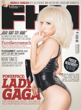 LADY GAGA FHM GERMAN MAGAZINE