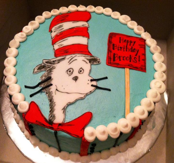 Sweet Treats by Susan Cat in the Hat Birthday Cake