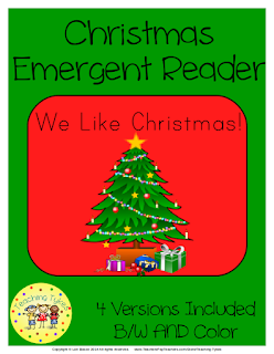 https://www.teacherspayteachers.com/Product/Christmas-Emergent-Reader-1312998