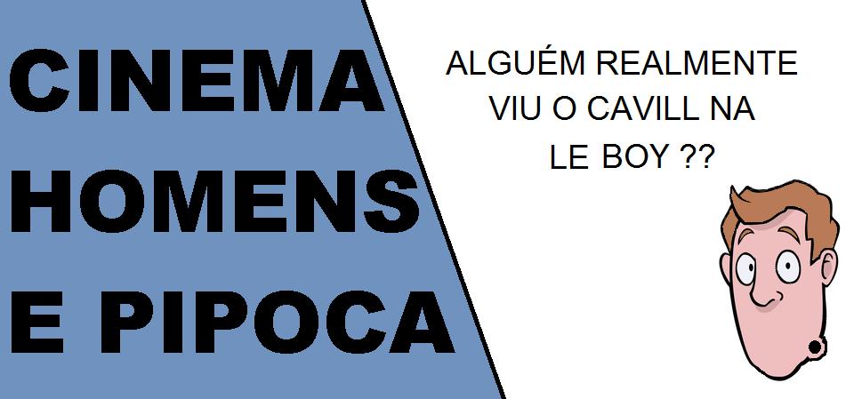 Cinema, homens e pipoca