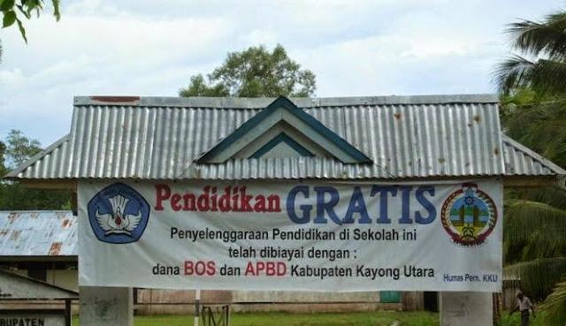 contoh sekolah gratis di indonesia