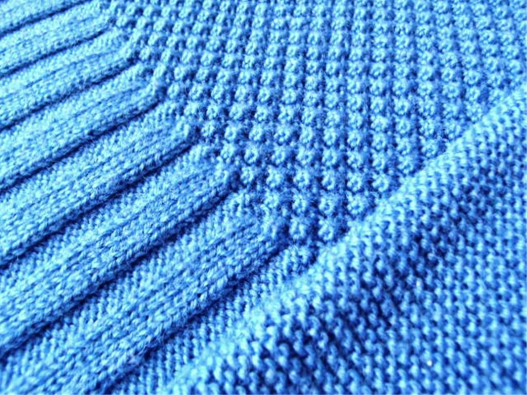 индиго синий платье узоры спицами шиповник платочная резинка