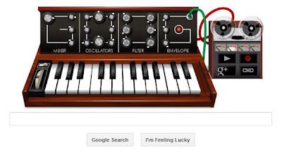 Bob Moog Google Doodle