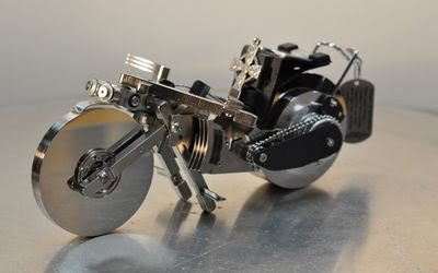 làm xe đồ chơi từ ổ cứng