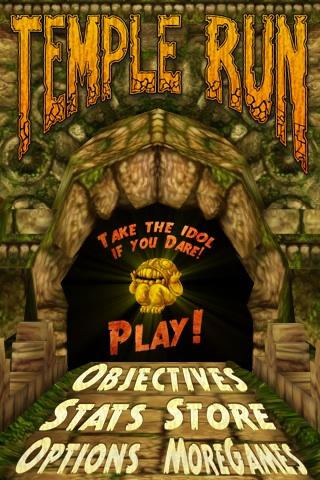 Temple Run Free App Game By Imangi Studios