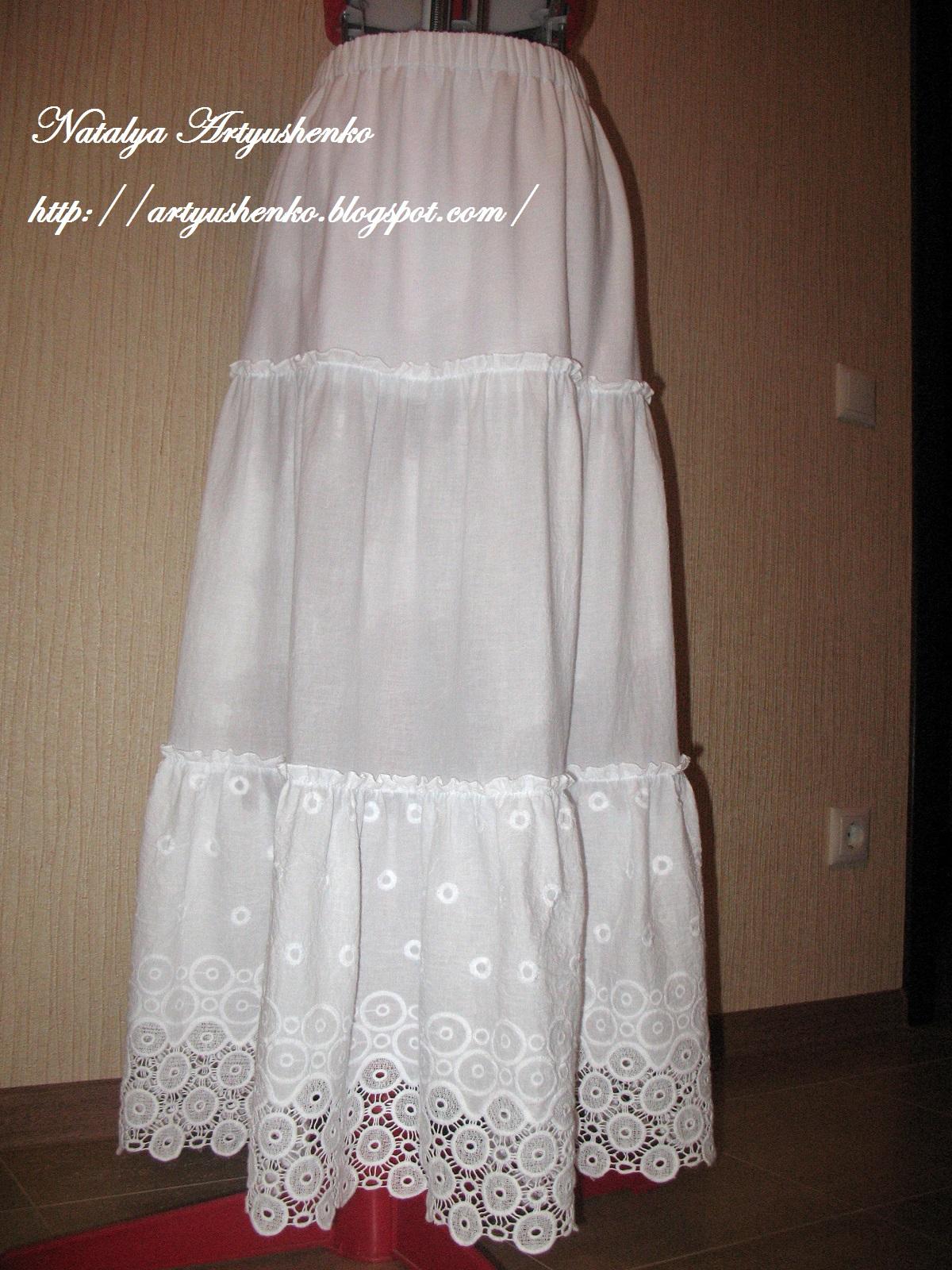 Летняя юбка своими руками 65