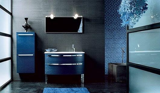 Decorar con azul la casa colores en casa - Mobile bagno blu ...