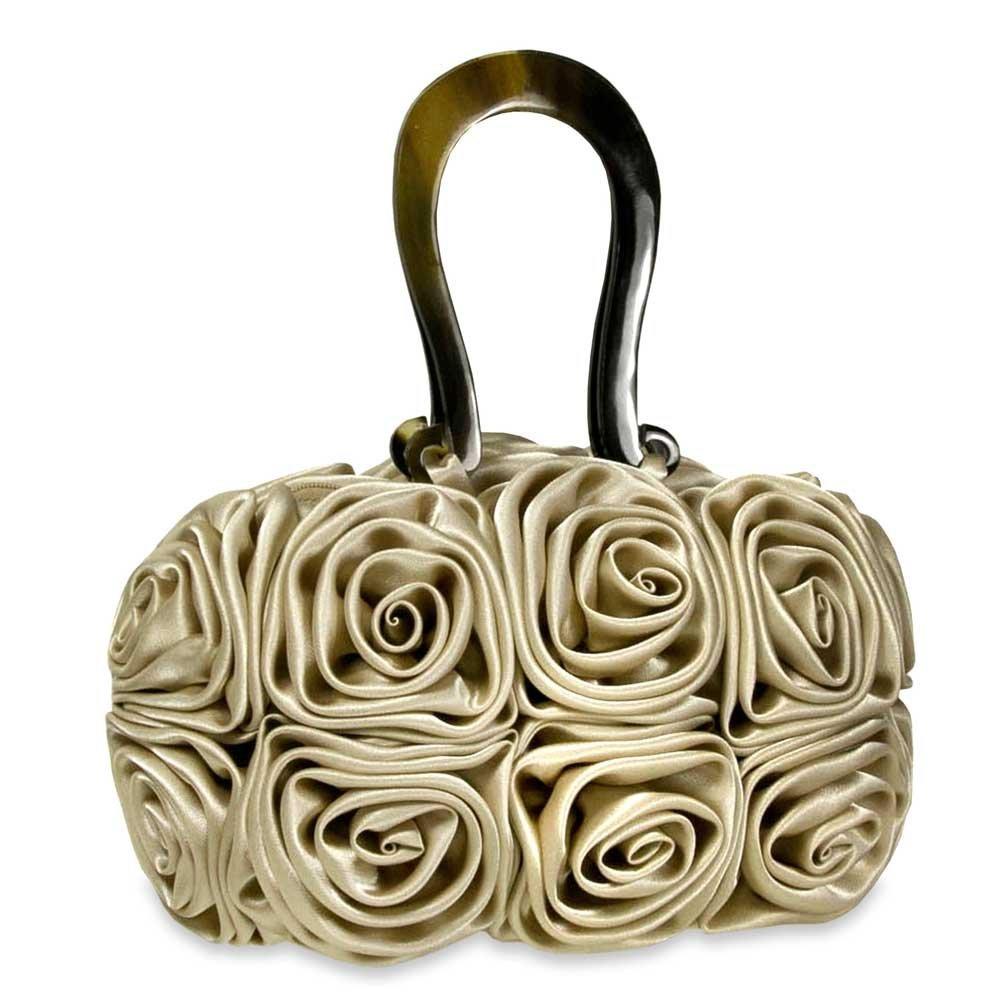Fashion trends rosette flower handbags cheap handbags