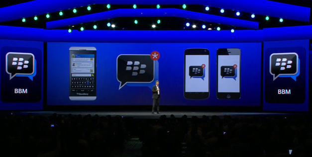 blackberry messenger to meet android & iOS