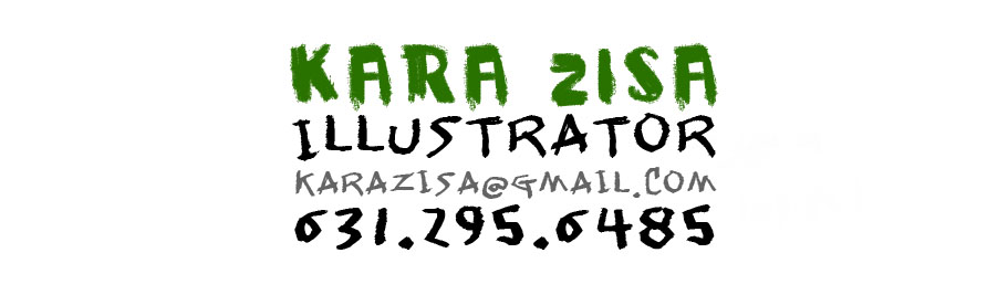 Kara Zisa Illustration