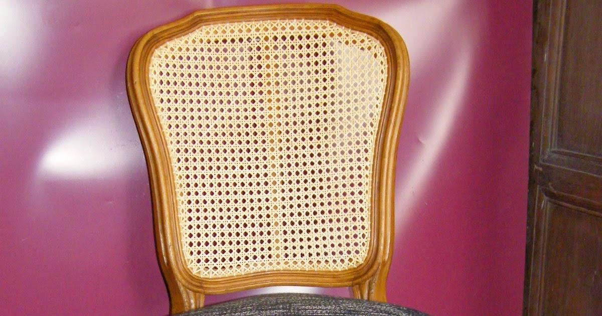 Normandie cannage chaise louis xv cann e et tapiss e de for 18 rue de la chaise