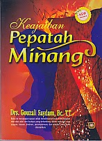 toko buku rahma: buku KEAJAIBAN PEPATAH MINANG, pengarang gouzali saydan, penerbit pustaka setia