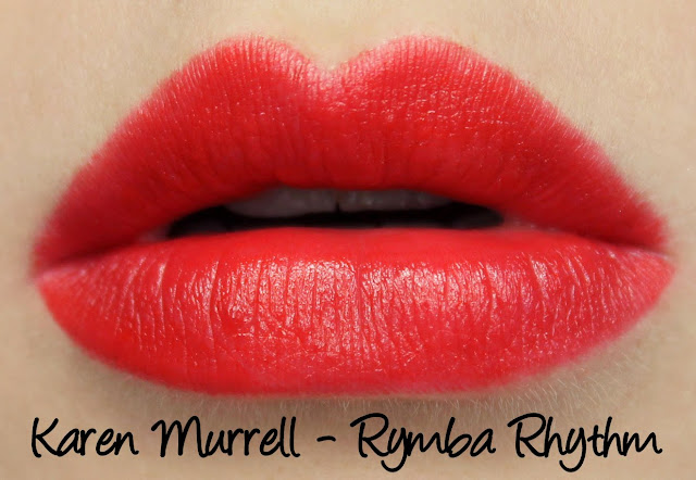 Karen Murrell Christmas Gift Set - Rymba Rhythm Swatches & Review