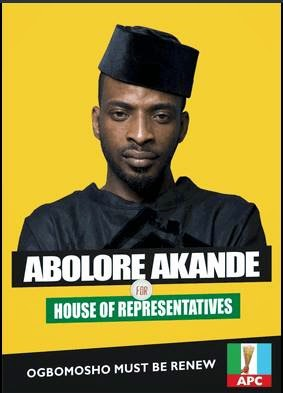 9ice's campaign poster disaster