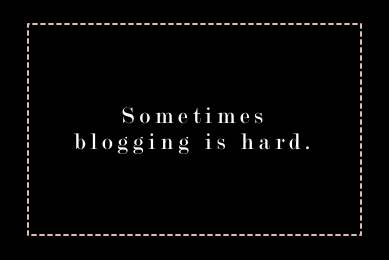 blog, blogger, discouraging, comparing success, blogging is hard