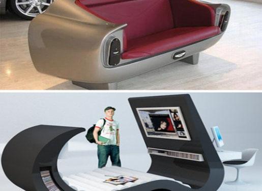 Unique furniture designs for Strange furniture designs