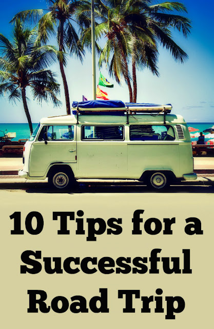 10 tips for a successful road trip :: OrganizingMadeFun.com