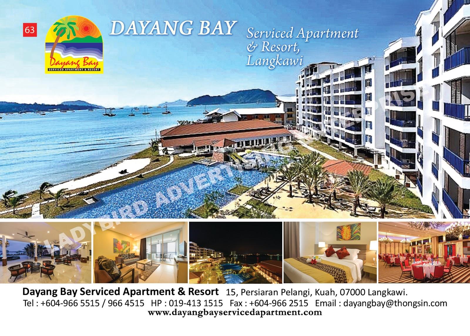 Langkawi Hotspot: Dayang Bay Serviced Apartment & Resort, Langkawi