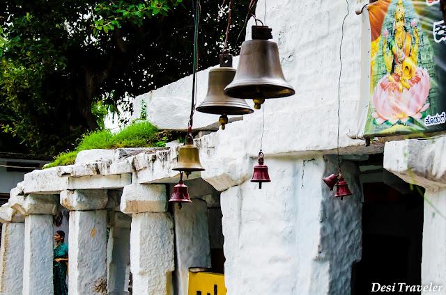 temple bells pampa sarovar temple of hampi