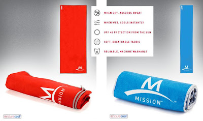 Mission Enduracool Towels