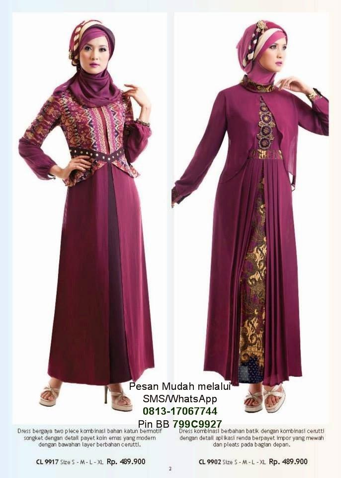 Baju Lebaran Calosa 2014 Cantik Berbaju Muslim