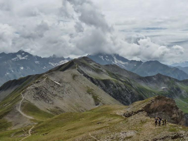 ツールドモンブラン ラ・クロワ・デュ・ボンノム峠