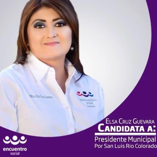 SAN LUIS, RIO COLORADO, SONORA: TU CANDIDATA PARA ALCALDESA