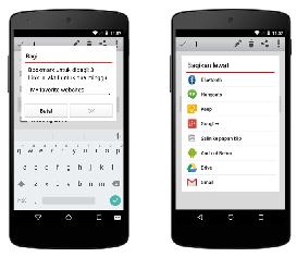Cara Berbagi Bookmarks Opera di Android