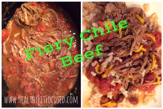 Fiery Chile Beef, Clean Eating Recipe, Flank Steak