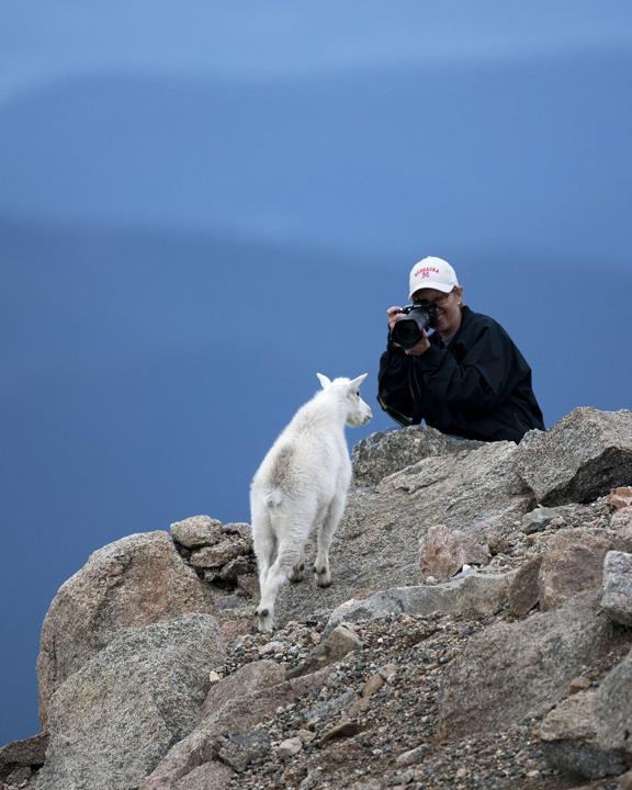 Ken Papaleo: X Marks The Shot: Mount Evans, Idaho Spring