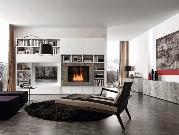 arrangements des meubles de salon d coration salon d cor de salon. Black Bedroom Furniture Sets. Home Design Ideas