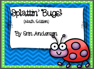 http://www.teacherspayteachers.com/Product/Splattin-Bugs-Math-Edition-995424