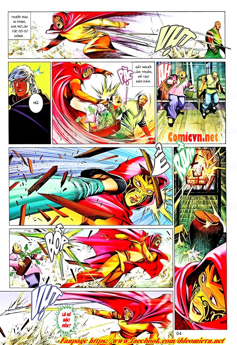 Phong Vân chap 651 Trang 4 - Mangak.info