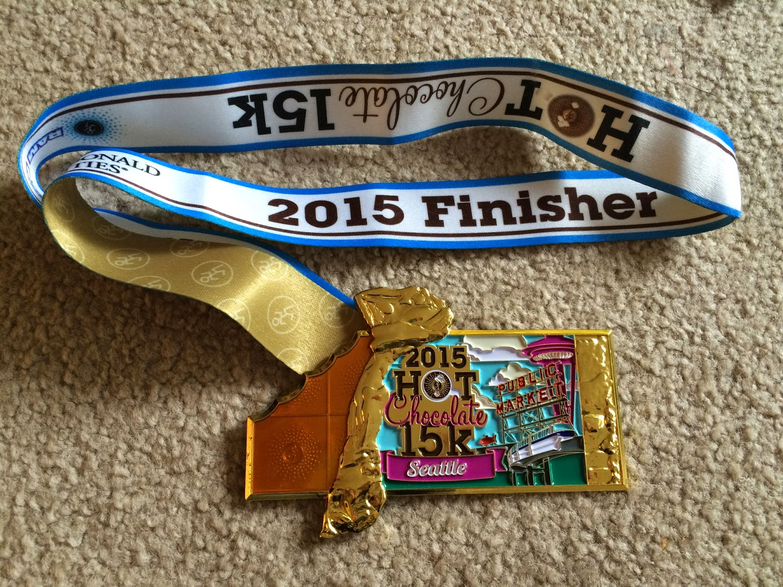 My Running Story and More!: Seattle Hot Chocolate 15K race!!!
