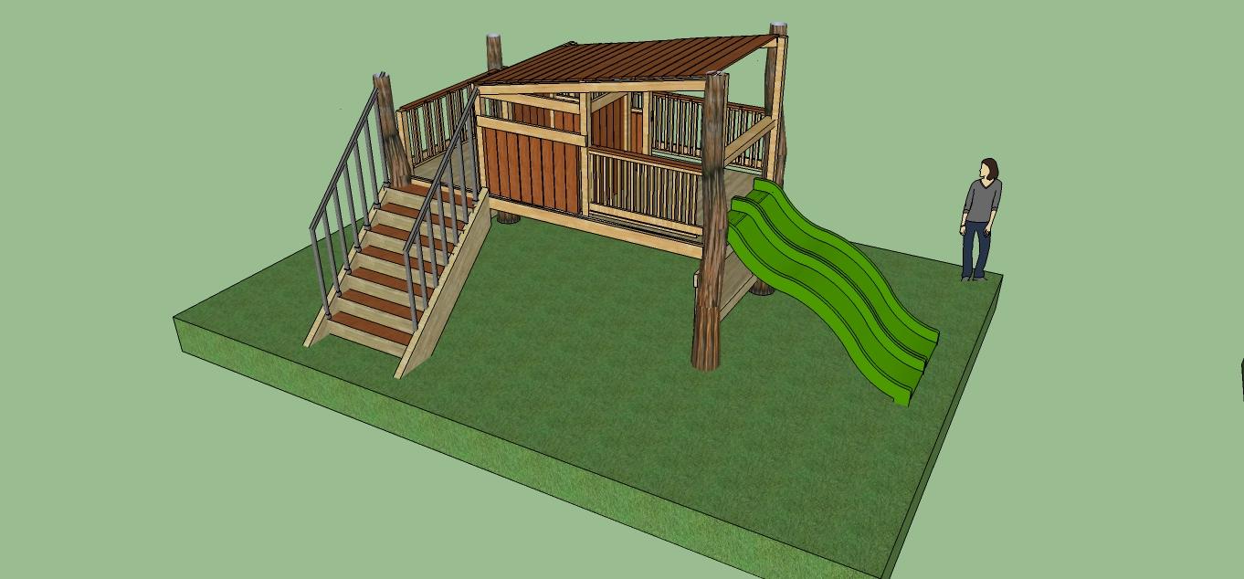 Natural state treehouses inc preschool playground design for Kindergarten playground design
