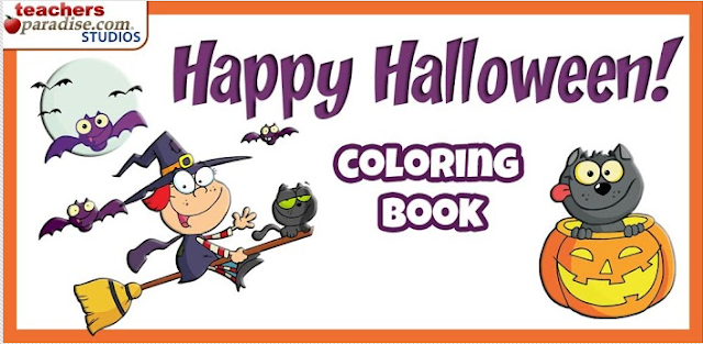 Happy Halloween Coloring Game