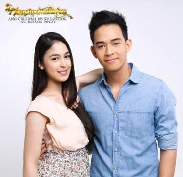 Julia Barretto and Diego Loyzaga on Petrang Paminta