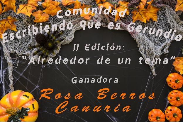 """Premio literario en """"Escribiendo que es gerundio""""."""