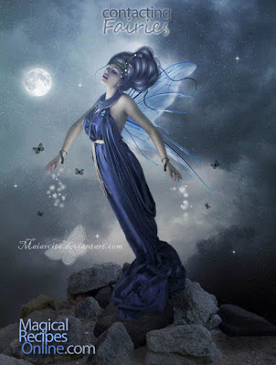 Fairies Sidhe Lunar Eclipse Communication Contact