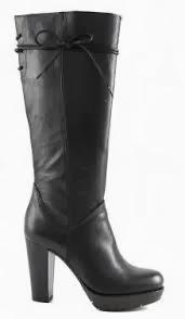 Stivali in pelle Caffè Noir