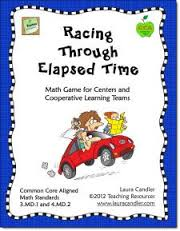 http://www.teacherspayteachers.com/Product/Racing-Through-Elapsed-Time-227440