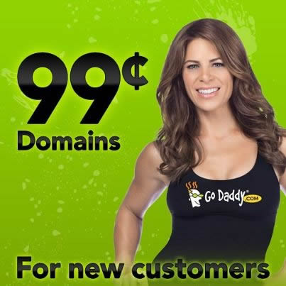 Godaddy Domain Name In 0.99$ Coupon Code