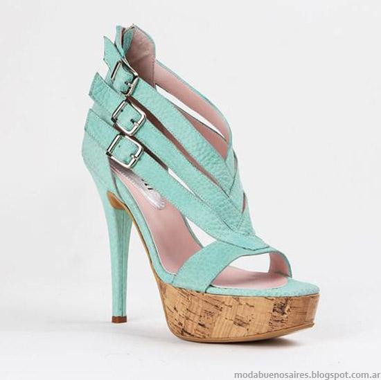 Zapatos y sandalias de fiesta 2015. Moda primavera verano 2015.