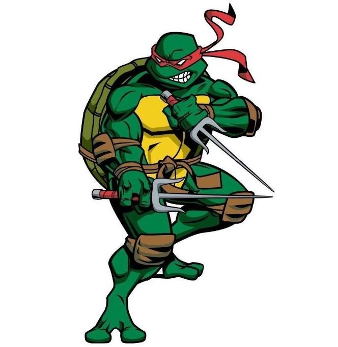 Gambar Kartun Kura-kura Ninja 3