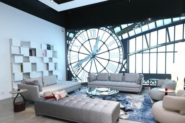 roche bobois opens first showroom in hong kong hkblogger. Black Bedroom Furniture Sets. Home Design Ideas