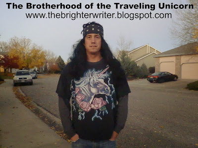 The Brotherhood of the Traveling Unicorn www.thebrighterwriter.blogspot.com