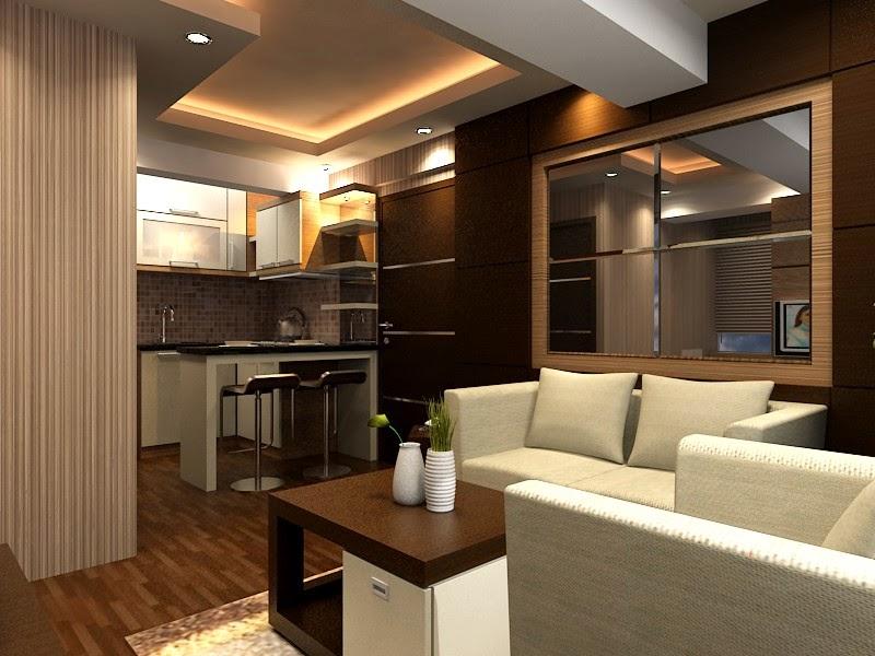 Desain Interior Apartemen Konsep Minimalis Dengan Nuansa Hotel Berbintang  Karya Arsha Design
